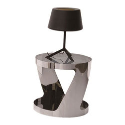 Creative Furniture - Dario End Table in Chrome Finish - Creative Furniture - Your living room becomes more attractive and elegant with this delightful End Table! It will be the perfect addition to your home.
