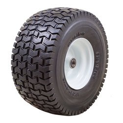 "Marathon Industries - Flat Free Power Equipment Tire with Turf Tread, 15x6.50-6"" - Marathon Industries 15x6.50-6"" Flat Free Power Equipment Tire"