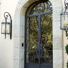 Traditional Front Doors by MASTER IRONWORKS - Beverly Hills - 310.844.6250