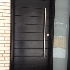 Modern Front Doors by Fiberglass Doors
