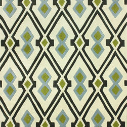 nuLOOM - Contemporary 5' x 8' Green Hand Tufted Area Rug Geometric BC64 - Made from the finest materials in the world and with the uttermost care, our rugs are a great addition to your home.