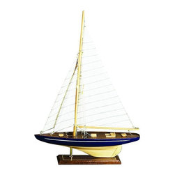 Benzara - Wood Sailboat - If you are looking for low cost but rare to find elsewhere nautical decor item to bring extra galore that could refresh the decor appeal of short spaces on tables or shelves, beautifully carved 84592 WOOD SAILBOAT may be a good choice.