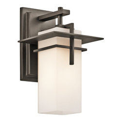 Kichler Lighting - Kichler Lighting 49642OZ Caterham Indoor / Outdoor Contemporary Wall Sconce - Suitable for outdoor living environment.