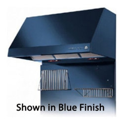 """Heartland - 3400 30"""" Wall Mount Range Hood with 500 CFM Inline Blower  3 Speed  Heating Lamp - At Heartland they have an interesting theory about the people that buy their appliances They dont try and tell their customers what they want Rather they give them what they desire They truly recognize that individual tastes are just that - very indi..."""