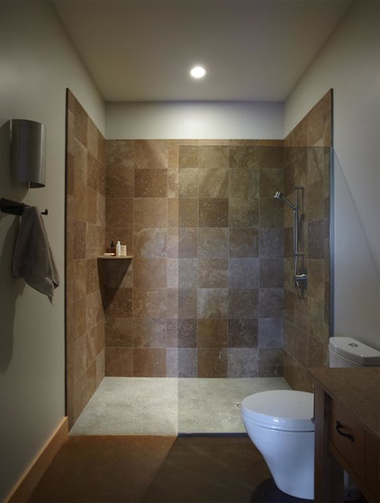 Contemporary Bathroom by Joan Heaton Architects