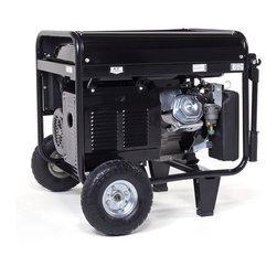 None - LF7000 7000-watt Pro Series OSHA Approved Recoil Start Gasoline Powered Portable - 7000 Watt Pro Series OSHA Approved Recoil Start Gasoline Powered Portable Generator. 6.5 gallon fuel tank,10 hour run time at 50-percent load,75 dB Sound Rating,Auto Idle - Power on Demand.