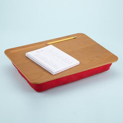 Schoolhouse Lap Desk - As a child, I was never one to enjoy sitting at a desk. This portable desktop would have been perfect.