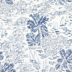 mediterranean wallpaper by Ralph Lauren Home