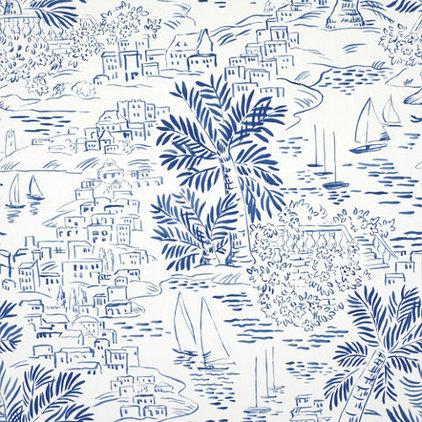 Mediterranean Wallpaper by Ralph Lauren Home