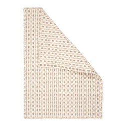 Hook & Loom Rug Company - Coopworth Natural Wool Woven Rug - 100% Natural Wool Rug, expertly and tightly hand-woven. Edges are hand bound instead of hemmed, so this rug is 100% reversible for twice the wear. Colors are natural sheep colors. We use no dyes, chemicals, or latex, so it is earth-friendly and family friendly.