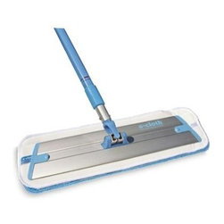 E-cloth Deep Clean Mop - e-cloth fiber technology penetrates and removes dirt,grease, oil, grime