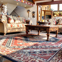 Interiors on Fox Farm Road - Our Products - An area rug can serve several functions - providing comfort underfoot, making a design statement, and defining a space.  We have over 200 area rugs in-stock, ready to take home and enjoy.