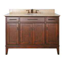 "48"" Marciana Single Bath Vanity - Tobacco -"