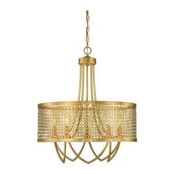 Savoy House - Savoy House 7-1281-5 Fairview 5 Light Multi Light Pendant - Features: