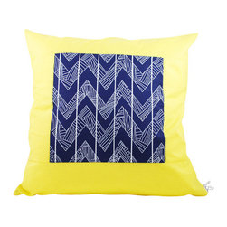 Moko & Co. - Pillow Cover - Jungle Gym in Navy, 14x14 - The Process: