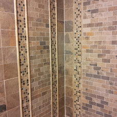 Contemporary Showers by Richmond Tile and Bath