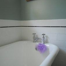 Farmhouse Bathroom by Andersen Design Group