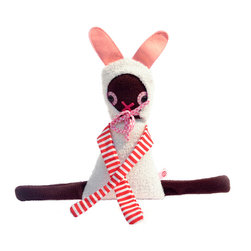OOTS! - Lola Rabbit Stuffed Toy - You don't have to wait until Easter to gift a soft little bunny to the little one in your life. This adorable rabbit is the perfect lovey for a baby or toddler. Parents will love her too, because she can be washed after a trip to the sandbox.
