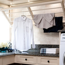 Transitional Laundry Room by Brice's Furniture