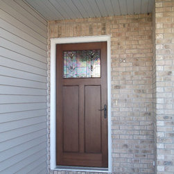 Entry Doors - Suburban Construction installation teams.