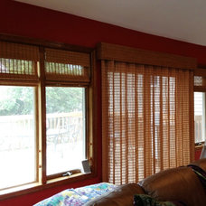 Transitional Window Treatments by Kaleidoscope Color Consulting