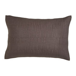 Donna Karan Home - King Quilted Sham - PEWTER (20X36) - Donna Karan HomeKing Quilted ShamDesigner About Donna Karan:Donna Karan's 1985 debut ready-to-wear collection Seven Easy Pieces was revolutionary in its simplicity. After spending a decade at Anne Klein Karan perfected her approach to easy chic looks for working women. She has translated her downtown vibe into everything from the initial ready-to-wear line to couture designs as well as intimate apparel fragrances home decor hosiery and more.