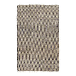 Surya - Surya Reeds REED-825 (Winter White, Midnight Blue) 5' x 8' Rug - This Hand Woven rug would make a great addition to any room in the house. The plush feel and durability of this rug will make it a must for your home. Free Shipping - Quick Delivery - Satisfaction Guaranteed