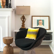 Transitional Living Room by Shirley Meisels