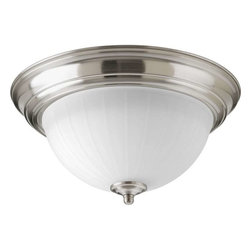 Progress Lighting - Progress Lighting P2304-09ET30K 1 Light Led Flush Mount Ceiling Light - Progress Lighting P2304-09ET30K 1 Light Led Flush Mount Ceiling Light In Brushed Nickel