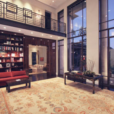 Contemporary Living Room by Abramson Teiger Architects