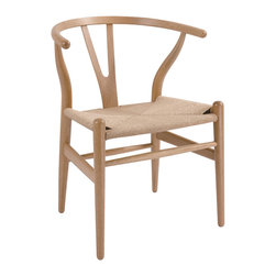 #N/A - The Wishbone Chair - The Wishbone Chair. The Wishbone Chair is made from beech wood with natural paper chord seating. Also known as the Y Chair the Wishbone has been produced in large volumes for over fifty years.