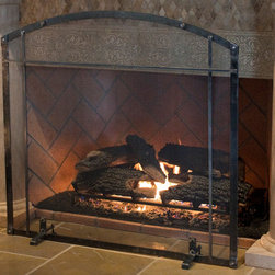 Artisan Studio Series - Shop the new line of freestanding fireplace screens. Same design, craftsmanship, and quality from Ironhaus at a price that won't compromise your budget.