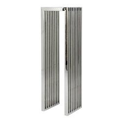 Eichholtz Oroa - Display Column Carlisle, Polished Stainless Steel - Polished Stainless steel