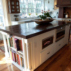 kitchen cabinets by Van Jester Woodworks