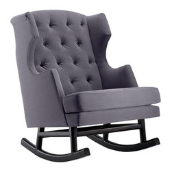 Nurseryworks Empire Rocker - This rocker is pretty stunning — I've never seen anything like it.