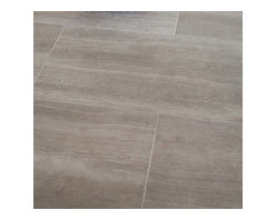 """Mission Stone Tile - Athens Silver Cream Marble Tile - 3"""" x 8"""" Honed, 1 Square Foot - Sold by the Square Foot"""