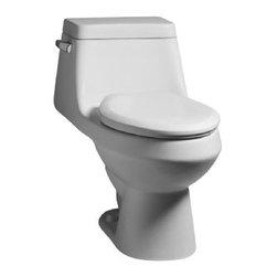 American Standard - Fairfield Elongated One-Piece Toilet in White - American Standard 2862.056.020 Fairfield Elongated One-Piece Toilet in White.