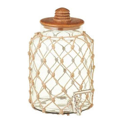 MIDWEST CBK - Rope Wrap Beverage Dispenser - Rope Wrap Beverage Dispenser. Shop home furnishings, decor, and accessories from Posh Urban Furnishings. Beautiful, stylish furniture and decor that will brighten your home instantly. Shop modern, traditional, vintage, and world designs.