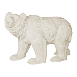Amedeo Design, LLC - USA - Happy Bear Statue - Amedeo's Happy Bear is an interesting piece with in our collection. With its textured finish and apparent smile, its the perfect complement to any indoor or outdoor development in need of a humorous addition. Providing a subtle joy to all who witness it. Made in USA.