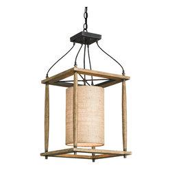 Currey & Co - Currey & Co 9996 High Falls Blacksmith Pendant - 1 Bulb, Bulb Type: 100 Watt Edison; Weight: 8lbs