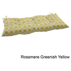 Pillow Perfect 'Rossmere' Outdoor Tufted Loveseat Cushion | Overstock.com