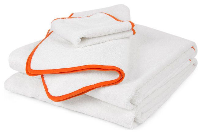 Contemporary Bath Towels by Jonathan Adler