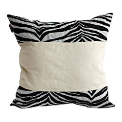 Blancho Bedding - Pure Life Linen Stylish Patch Work Pillow Floor Cushion  19.7 by 19.7 inches - Aesthetics and Functionality Combined. Hug and wrap your arms around this stylish decorative pillow measuring 19.7 by 19.7 inches, offering a sense of warmth and comfort to home buddies and outdoors people alike. Find a friend in its team of skilled and creative designers as they seek to use materials only of the highest quality. This art pillow by Onitiva features contemporary design, modern elegance and fine construction. The pillow is made to have invisible zippers, linen shells and fill-down alternative. The rich look and feel, extraordinary textures and vivid colors of this comfy pillow transforms an ordinary, dull room into an exciting and luxurious place for rest and recreation. Suitable for your living room, bedroom, office and patio. It will surely add a touch of life, variety and magic to any rooms in your home. The pillow has a hidden side zipper to remove the center fill for easy washing of the cover if needed.