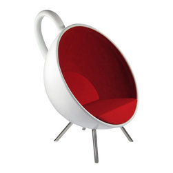 Fine Mod Imports - Tea Cup Accent Chair - Features: