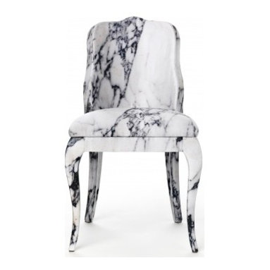 MADinItaly store - LUIGINA MARBLE DINING CHAIR