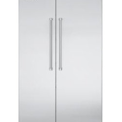 Viking  Built-in Side by Side Stainless Steel Refrigerator - This is a nice built in unit which we have used for clients, who tend to love them.