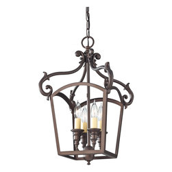Murray Feiss - Murray Feiss F2801/4ORB Luminary 4 Bulb Oil Rubbed Bronze Chandelier - Murray Feiss F2801/4ORB Luminary 4 Bulb Oil Rubbed Bronze Chandelier