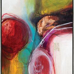 "SCANDINAVIAN ART FACTORY - LARGE ARTWORK - NAME-""S-VISIONARY"""