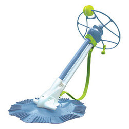 "Heritage - Zap Vacuum Auto Pool Cleaner - Fits 48"" and 52"" deep pools. This unit works with your existing fi ltration system to eliminate hand vacuuming. Operation is simple and trouble-free. Cleaner connects directly to the skimmer."