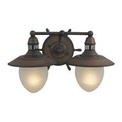 Vaxcel Lighting - Vaxcel Lighting VL25502 Orleans 2 Light Vanity Light - Features: